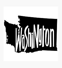 Washington Photographic Print