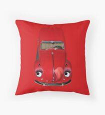 ㋡ CAR VOLKS WAGON BUG THROW PILLOW (GLAMOUR BUG)㋡  Throw Pillow