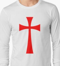 Camiseta de manga larga Long Cross - Caballeros Templarios - Holy Grail - The Crusades