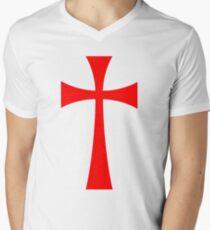 Long Cross - Knights Templar - Holy Grail - The Crusades T-Shirt