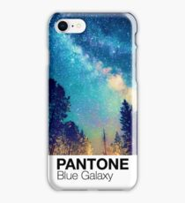 Blue Starrie Night Galaxy Pantone iPhone Case/Skin