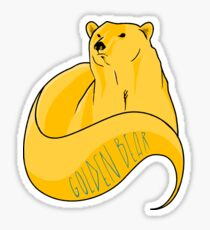 GoldenBear Sticker
