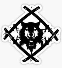 Xavier Wulf Sticker