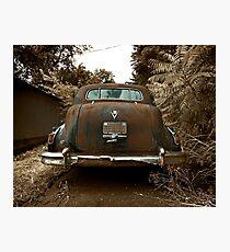 Abandoned 1948 Cadillac Limo Photographic Print