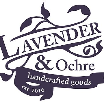 Lavender and Ochre Logo by lavenderochre