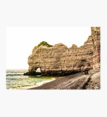 Etretat Beach Photographic Print