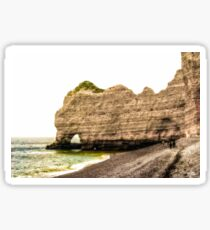Etretat Beach Sticker
