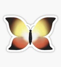 Sunset Butterfly  Sticker