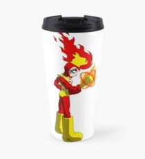 Firestorm Anime - The Nuclear Man Travel Mug