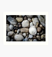 Etretat Rocks Art Print