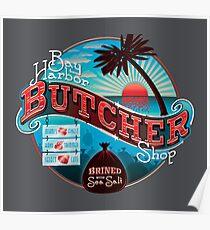 Bay Harbor Butcher Shop Poster