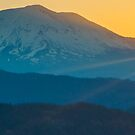 Sunrise Over Mt. Adams by Shari Galiardi