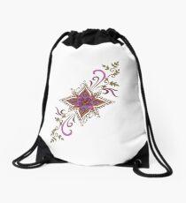 Henna Burst Drawstring Bag