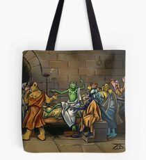 All I Know Is That I Am Green Tote Bag