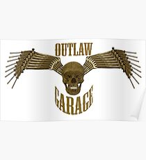 outlaw garage Poster