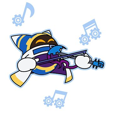 Magolor with Violin by VibrantEchoes