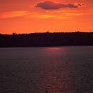 Sundown on the Bay by Dale Lockwood