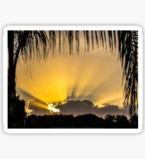 Sun Out Through The Cloud Sticker