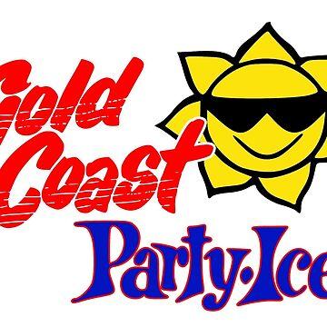 Gold Coast Party Ice by GoldCoastRetro