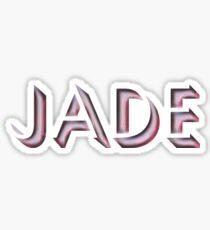 Jade Sticker