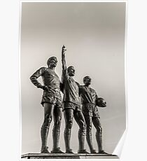 Manchester United Legends Poster