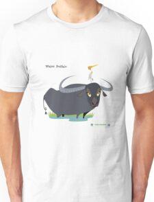 Asiatic Water Buffalo Caricature Unisex T-Shirt