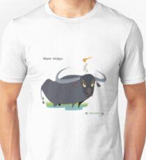 Asiatic Water Buffalo Caricature T-Shirt
