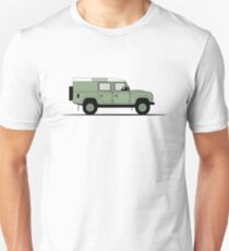A Graphical Interpretation of the Defender 110 Utility Station Wagon Heritage Edition T-Shirt