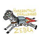 Horizontally Challenged Zebra by Kootenai
