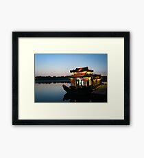 Beijing Boathouse Framed Print