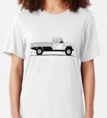 A Graphical Interpretation of the Defender 130 Single Cab Dropside Tipper Slim Fit T-Shirt