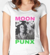 MOON PUNX Women's Fitted Scoop T-Shirt
