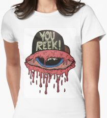 YOU REEK Women's Fitted T-Shirt