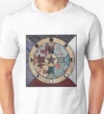 Mandala of the Seasons and Elements Unisex T-Shirt