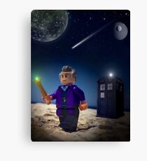 Lego Doctor Who Canvas Print