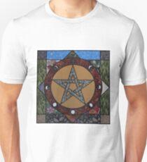 Pentacle Mandala  Unisex T-Shirt