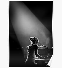 On Piano Poster