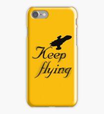Keep Flying iPhone Case/Skin