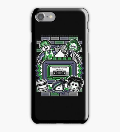 Everything is Creepy Mix Vol. 1 iPhone Case/Skin