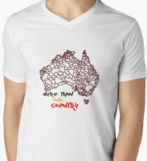 More than One Country Men's V-Neck T-Shirt