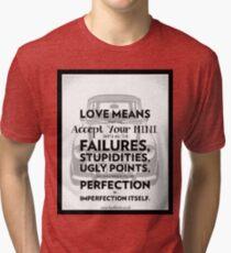 Love Means Tri-blend T-Shirt