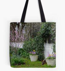 Rosalee Cottage Garden Tote Bag