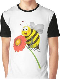 Honey Bee Graphic T-Shirt