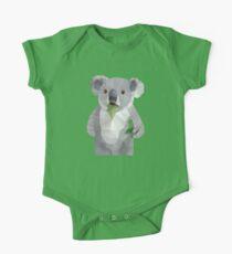Koala with Koalafication Polygon Art Kids Clothes