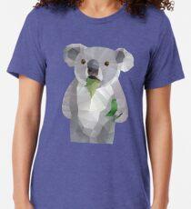 Koala mit Koalafication Polygon Art Vintage T-Shirt