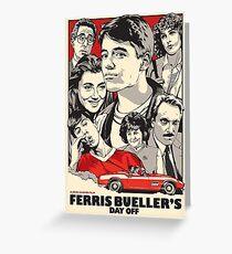 Save Ferris! Greeting Card