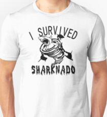 Survived sharknado Unisex T-Shirt