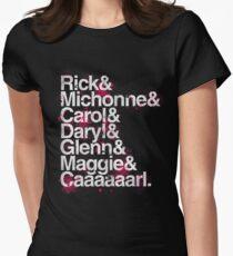 Und Caaarl Tailliertes T-Shirt für Frauen
