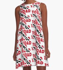 Trinidad and Tobago A-Line Dress