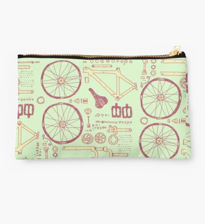 Bicycle Parts Studio Pouch